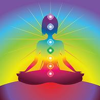 Seven major chakras in the system